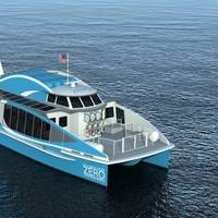 Hydrogen fuel cells provide emissions-free power generation for ferries