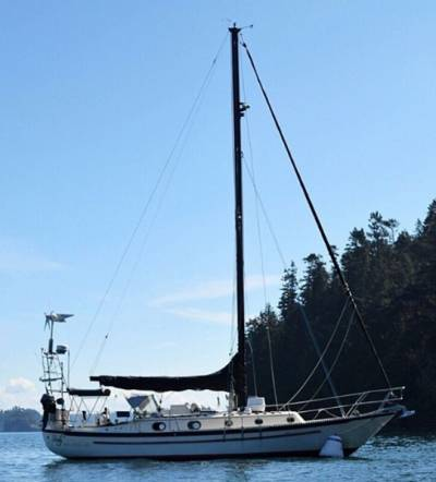 """SV Indy is a Pacific Seacraft and is 37 feet of possibility. She was designed by the legend..."