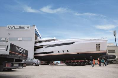 Genesi yacht launch at Wider